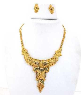 Fine Golden Necklace Set