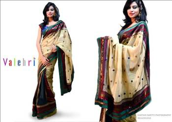 Latest Designer Saree for Wedding with Blouse