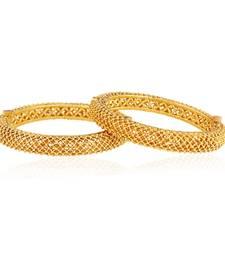 Buy Mesmerising Gold plated antique bangle bangles-and-bracelet online