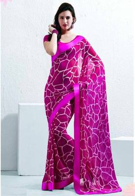 Saree With Unstitched Blouse (15015)