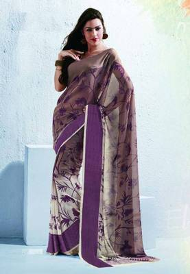 Saree With Unstitched Blouse (15045)