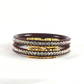 Large size bangles colour maroon size-2.12,2.14