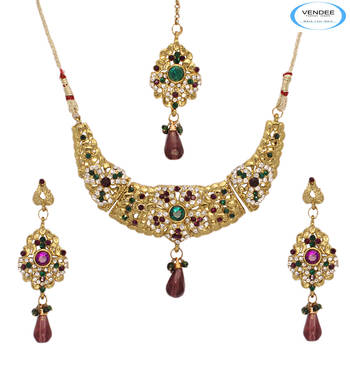 party wear necklace jewelry