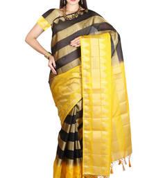 Buy yellow woven manipuri silk saree With Blouse manipuri-silk-saree online