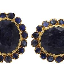 Buy BEAUTIFUL SMALL BLUE SAPPHIRE STONE STUDDED TOPS Other online
