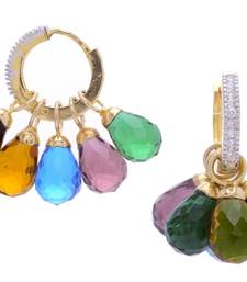 Buy BEAUTIFUL CRYSTAL DROPS CHANGEABLE BALI danglers-drop online