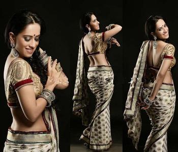 Classy impression panisha saree