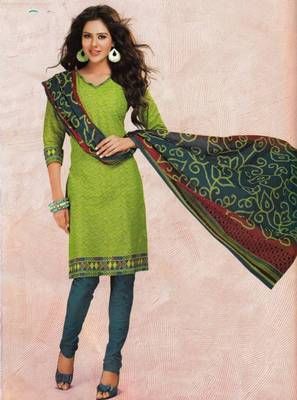 Dress material cotton designer prints unstitched salwar kameez suit d.no 4418