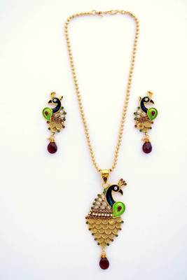 Peacock Necklace Set 7