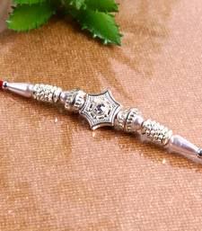 Buy Traditional silver rakhi silver-rakhi online