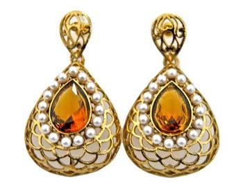 Yellowstone Pearl Earrings
