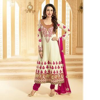 OffWhite Designer Anarkali Suit