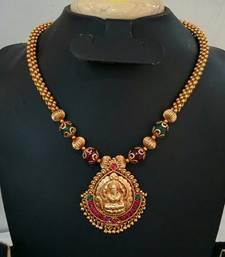 Buy Georgeous gold plated antek necklace set necklace-set online
