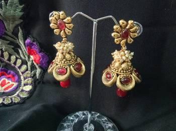 kanchana Designer jhumkis