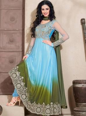 Full length long Anarkali suit