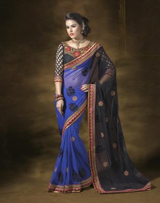 Designer Soft Chiffon Saree