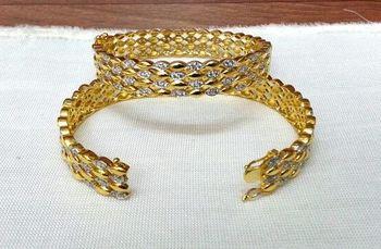 Craftstages Golden & AD Bangles