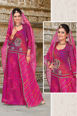 Rani Coloured Rajasthani Poshak