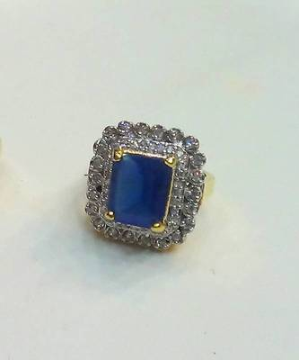 Craftstages Blue Stone Ring