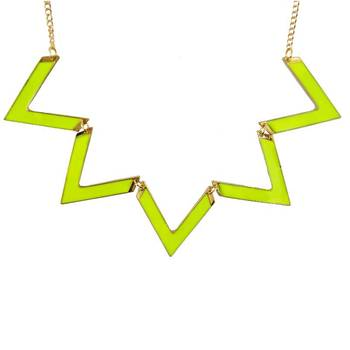 DIOVANNI Cool Status Whats Up in Sunshine Coast Statement Necklace