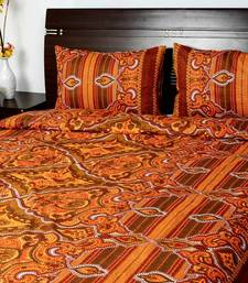Buy Orange Printed bedsheet other-home-furnishing online