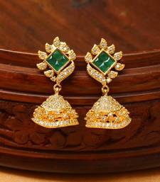 Buy CUTE Designer JHUMKAS south-indian-jewellery online