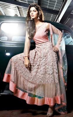 Party Wear Designer Aanarkali Suit