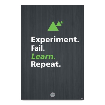 Learning Motivational Quote Poster