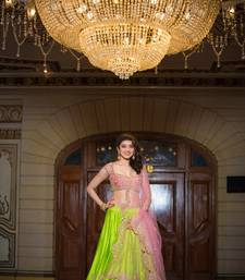 Buy Designer multi color Fancy lenghacholi ghagra-choli online