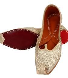 Buy Off white leather footwear footwear online