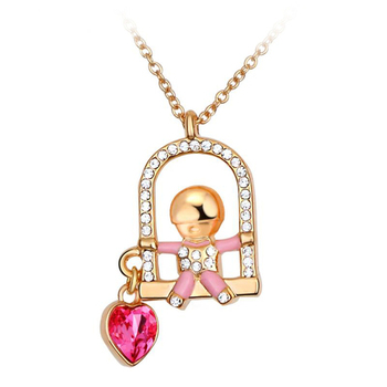 Dealtz Fashion 18k Gold Plated Fun in the Sun Necklace