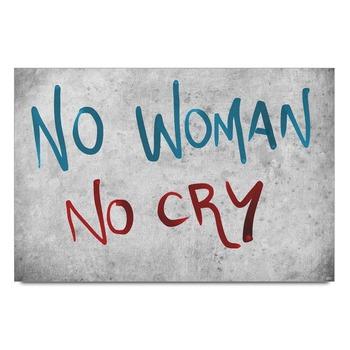 No Woman No Cry Poster