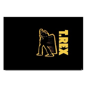 T Rex Rock Band Poster