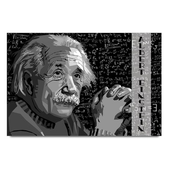 Albert Einstein Thinking  Poster