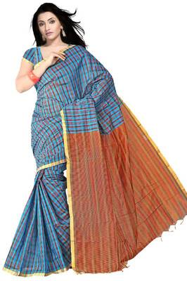 Traditional Fancy Cotton Saree Traditional Fancy Cotton Saree PS441