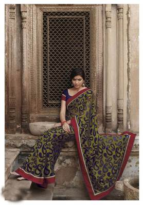 Embroidered Saree SC2478