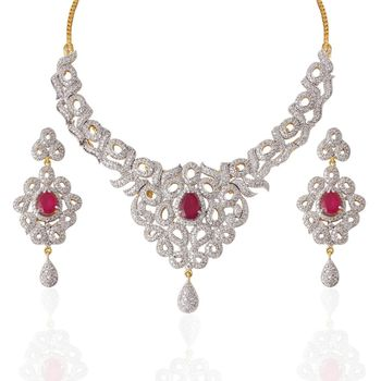 Heena Classic Collection Necklace Set