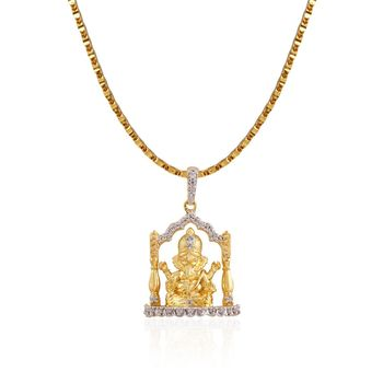 Heena Ganesh Idiol Pendent with chain >> HJPNG <<