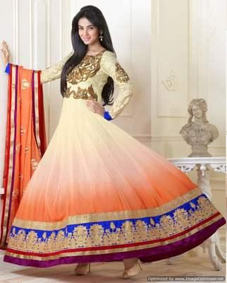 Long Anarkali Churidar Fabric SC5007