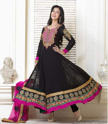 Long Anarkali Churidar Fabric SC5008