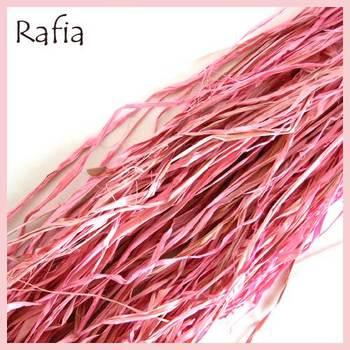 Natural Rafia Lt. Pink (100 Gms)