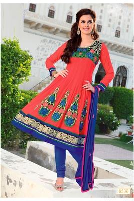 Party Wear Designer Anarkali Dress Material