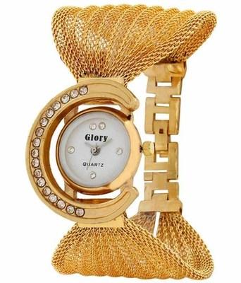 New Fashion Casual Golden color watch Famous Brand Quartz Watch Wristwatch