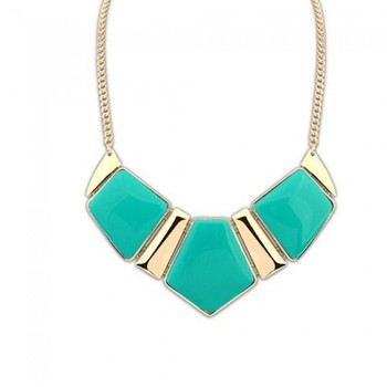 Sea Green Statement Necklace