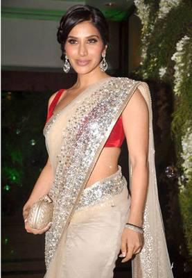 Sophie Chowdhry Bollywood Replica Saree