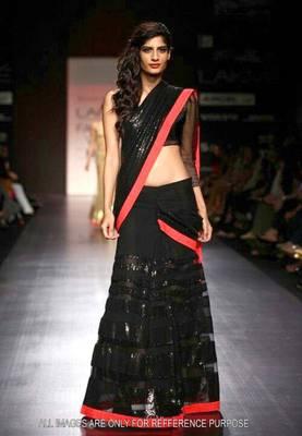 Black Bollywood Bollywood Replica Lehenga