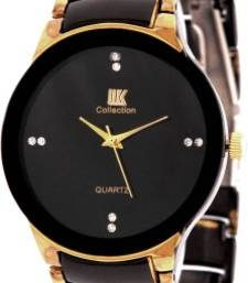 Buy New Fashion Golden and black colour stylist Latest 2016  Wristwatch watch online