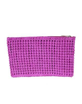 Crochet Clutch in Purple