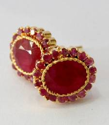 Buy BEAUTIFUL RUBY RED STONE STUDDED TOPS FROM HYDERABAD JEWELS Other online