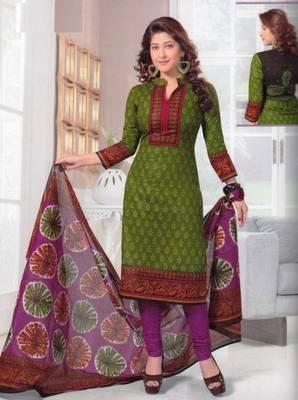 Dress material cotton designer prints unstitched salwar kameez suit d.no SG433